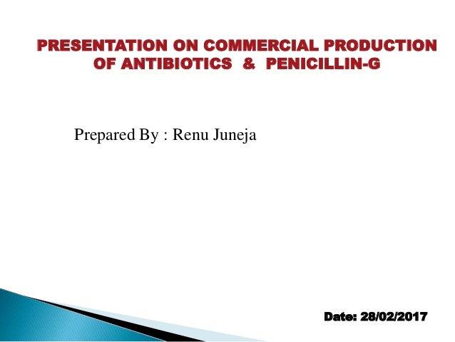 penicillin g production