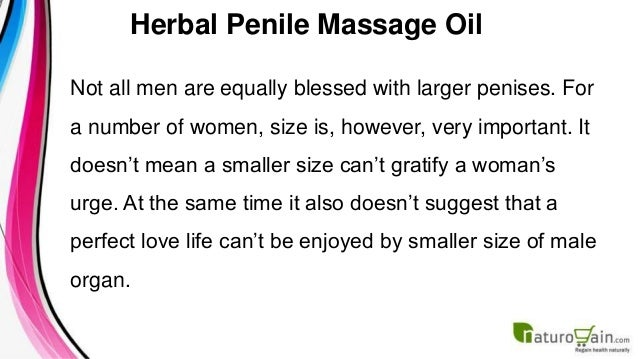 Herbal Penile Massage Oil To Increase Male Organ Size 2