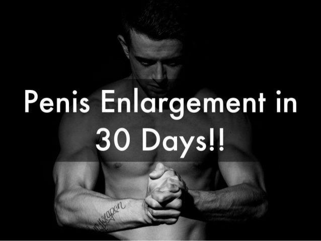 Enlargement natural penis Penis Enlargement: