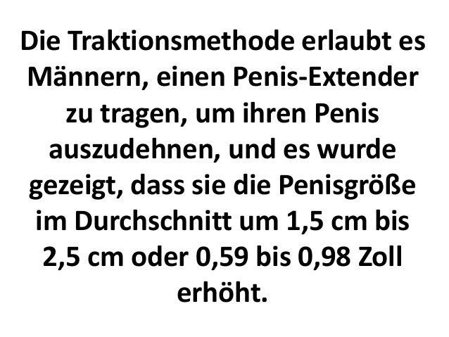 Penis deutschland durchschnitt
