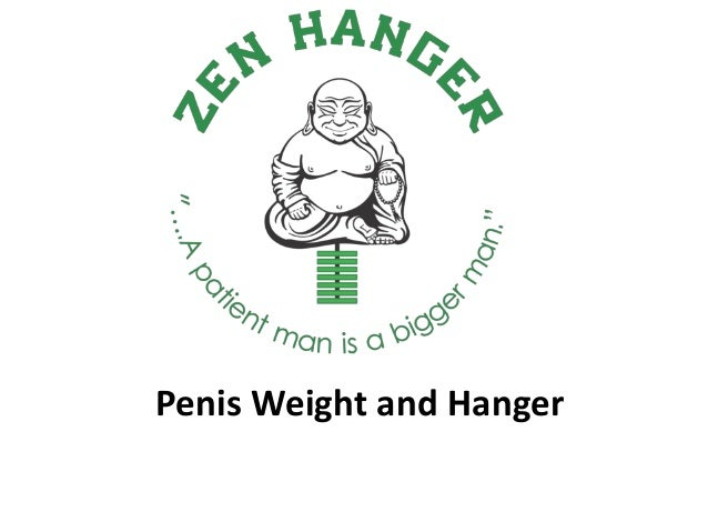 Penis Weight and Hanger