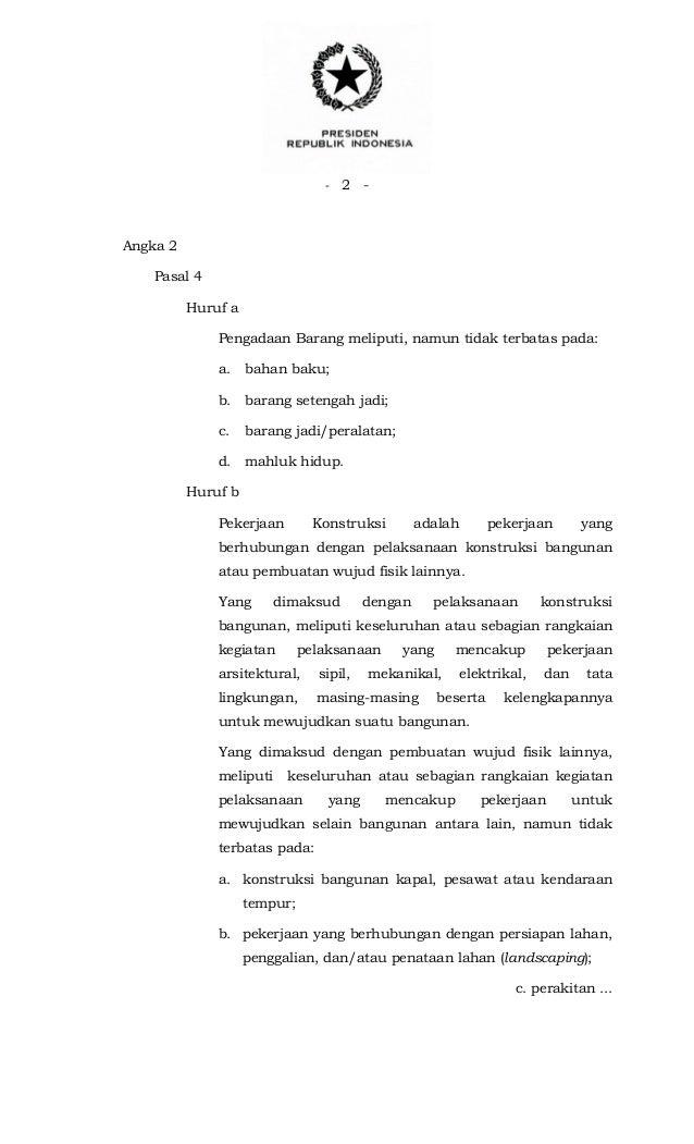 2012 pdf 70 perpres