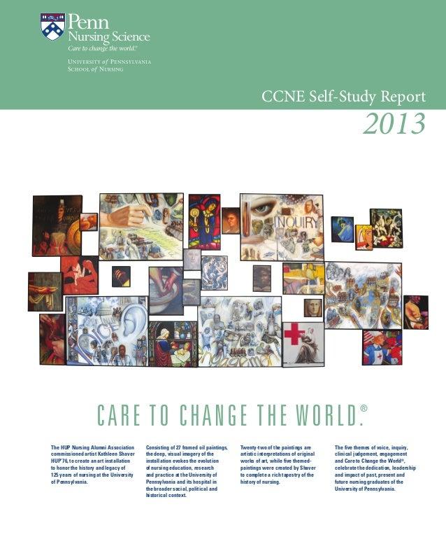 Penn nursing-ccne-self-study-report-2013