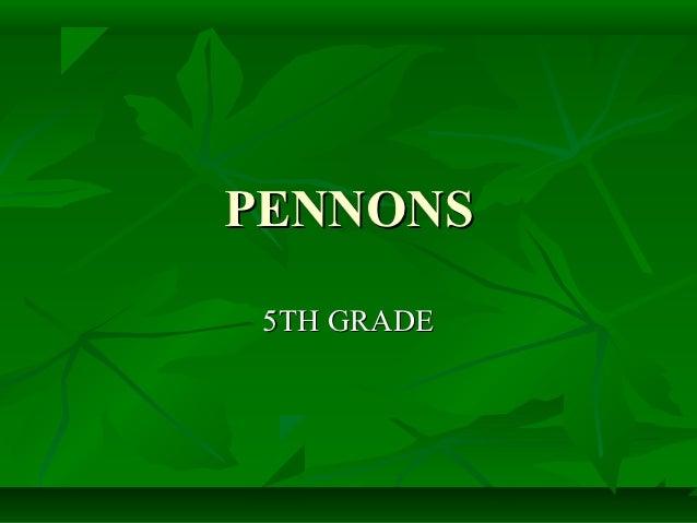 PENNONS 5TH GRADE