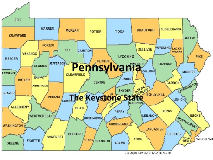 Pennsylvania The Keystone State