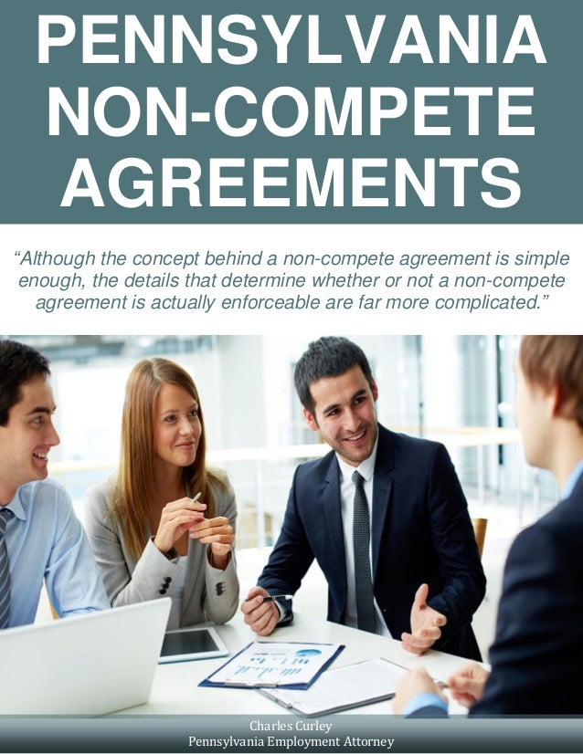 Pennsylvania Non Compete Agreements