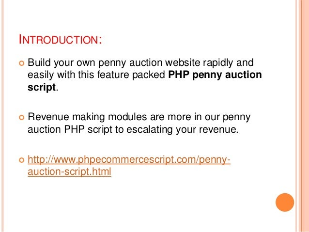 phppennyauction download