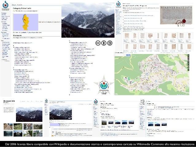 Il paesaggio culturale alpino su Wikipedia. Progetto Italia-Svizzera. https://meta.wikimedia.org/wiki/The_Alps_on_Wikipedi...