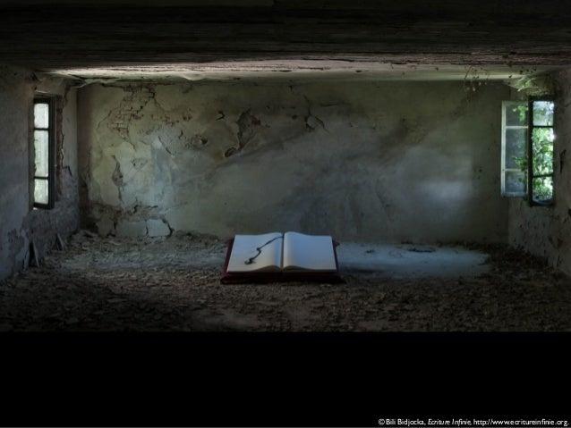 © Bili Bidjocka, Ecriture Infinie, http://www.ecritureinfinie.org.