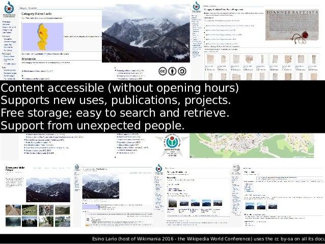 GLAM Visual Tool (SUPSI support WMCH, 2016-2017). Concept I. Pensa, design G. Profeta. https://meta.wikimedia.org/wiki/Res...