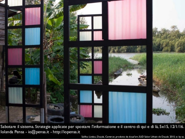 Salifou Lindou, Douala, Camerun, prodotto da doual'art, SUD Salon Urbain de Douala 2010, cc by-sa. Sabotare il sistema. St...