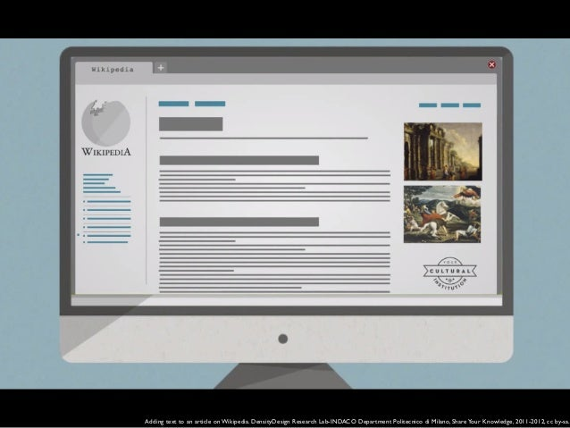 Edit Wikipedia. Communication campaign in public libraries. Design by Alessandro Serravalle developed within Wikipedia die...