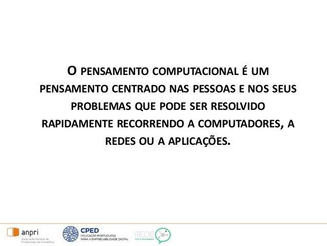 Obrigado! Fernanda Ledesma Professora de Informática Presidente da Direção da ANPRI Diretora do Centro de Formação Membro ...