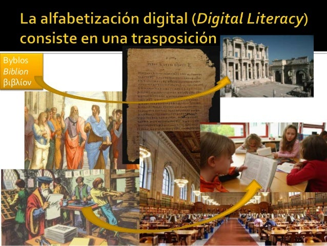 La capacidad de entender y utilizar la información de una gran variedad de fuentes digitales. Es la actualización per se d...