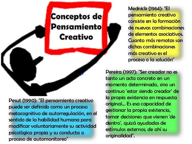 Pensamiento creativo Slide 2