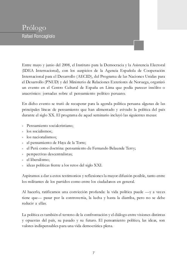 Pensamiento de haya de la torre for Ministerio de relaciones interiores espana