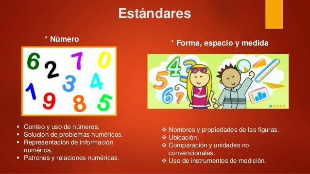 Campos formativos preescolar for Estandares para preescolar