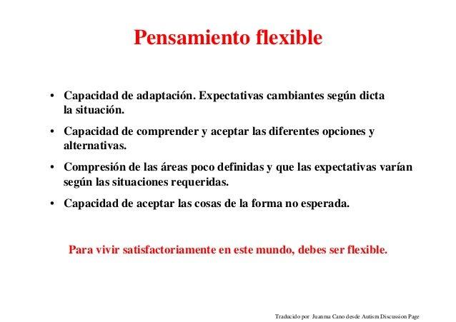 Pensamiento rigido e inflexible Slide 3