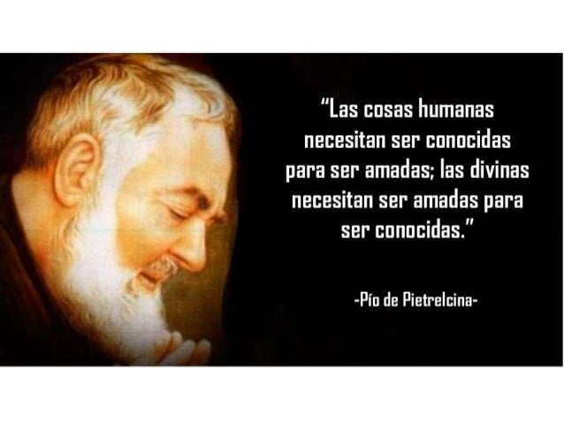 Pensamientos Del Padre Pío