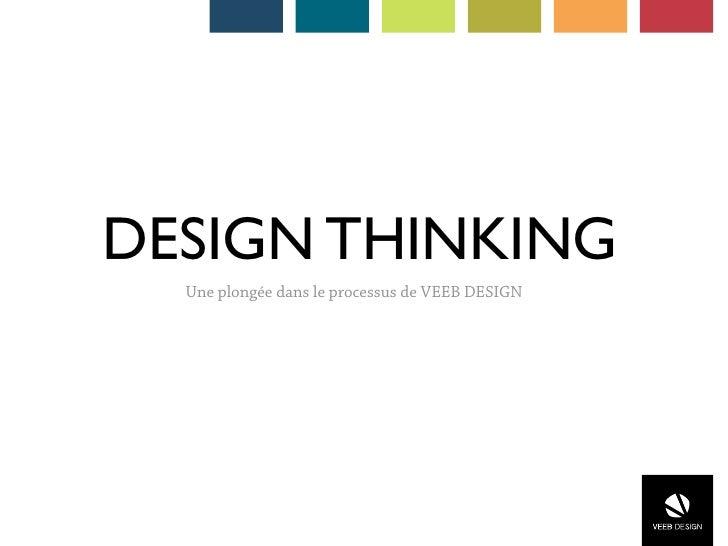 DESIGN THINKING  Une plongée dans le processus de VEEB DESIGN
