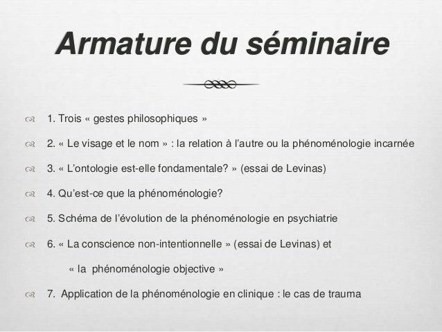 U00ab Penser Levinas En Philosophie Et Psychiatrie