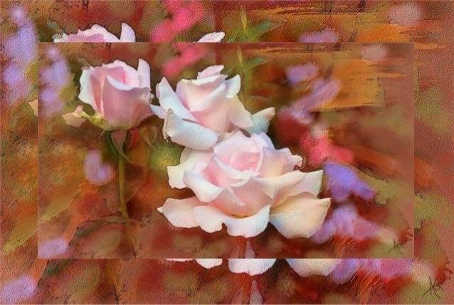 Pensiero D'amore  (Alberto Guillen's flower paintings)