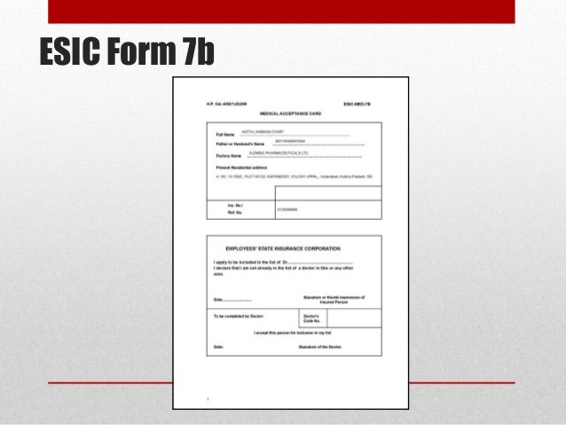 Esic Form 37 Pdf