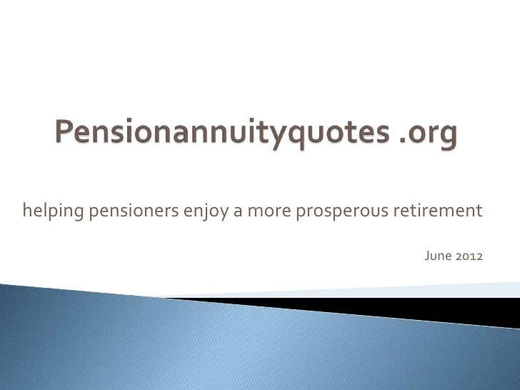 Pension Annuity Quotes Unique Annuity Quotes