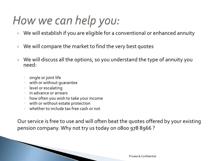 Annuity Quotes Delectable Pension Annuity Quotes