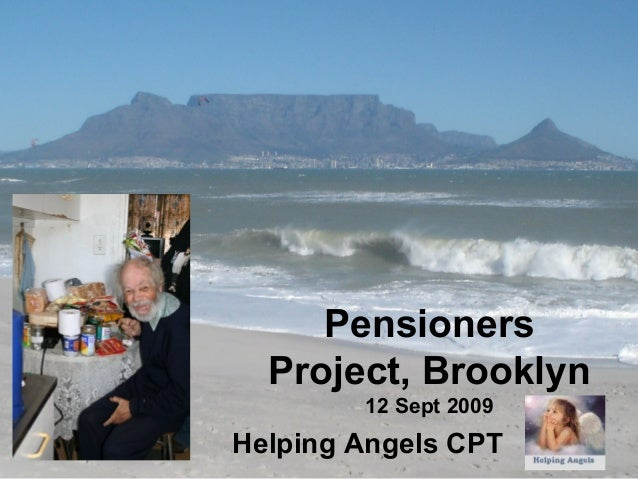 Pensioners Project, Brooklyn 12 Sept 2009 Helping Angels CPT