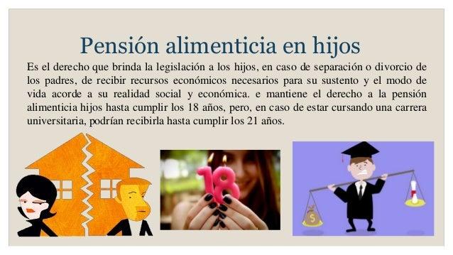 Pensiones alimenticias - Pension de viudedad en caso de divorcio ...