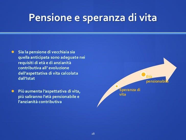 Guida alla riforma delle pensioni a cura del ministero del - Finestra mobile pensione ...