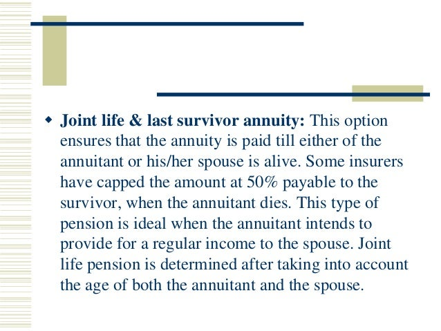 10 Year Period Certain And Life Annuity Annuityf 10 Year
