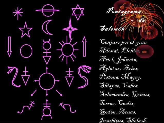 Pentagrama salomon p p for Conjuros de salomon
