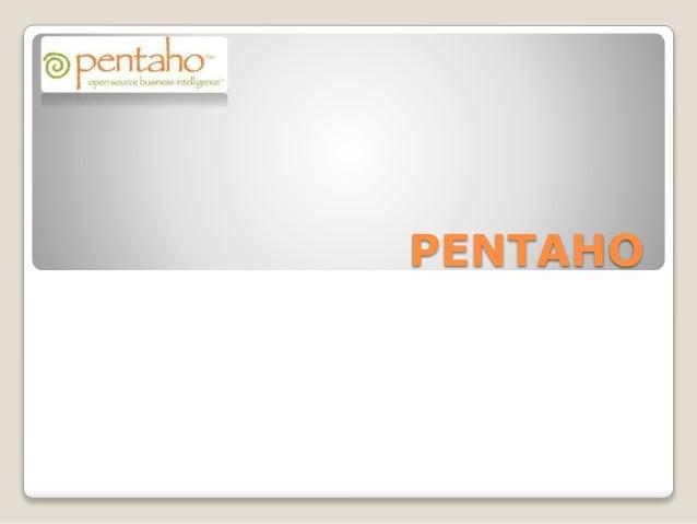 PENTAHO
