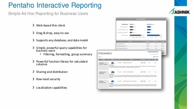 pentaho reporting for java developers pdf