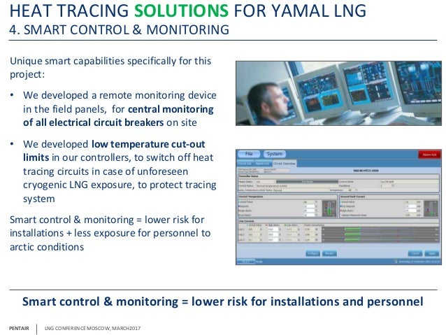 Heat Tracing Solutions For Lng Facilities In Arctic Conditions