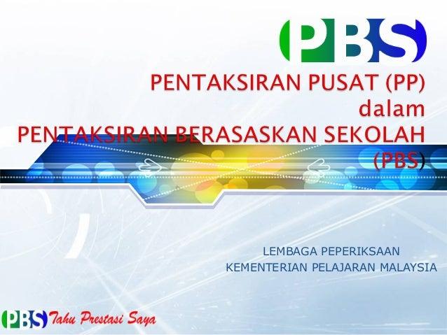 LEMBAGA PEPERIKSAANKEMENTERIAN PELAJARAN MALAYSIA