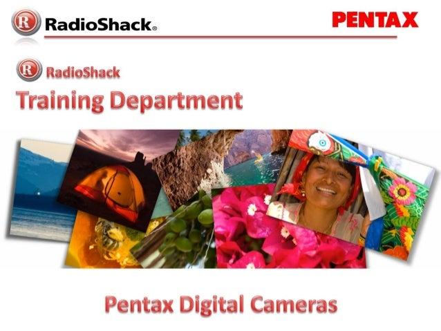 RadioShack® Training DepartmentRadioShack® Training Department