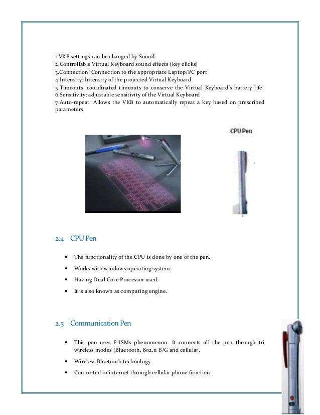Pen technology