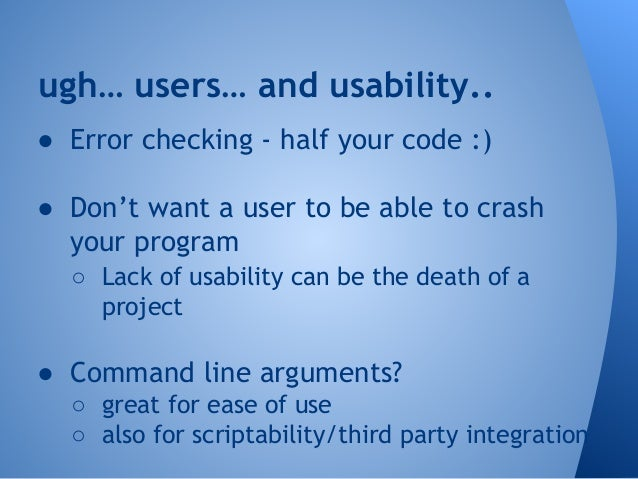 Wrap it up!  ● Added ability to take command line  arguments  ● Supports multiple hash types  ● Added the ability to gener...