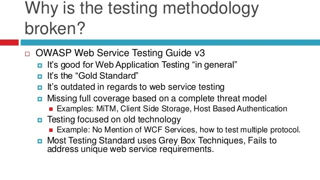 Pentesting With Web Services in 2012