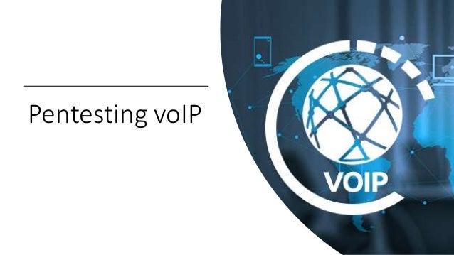 Pentesting voIP