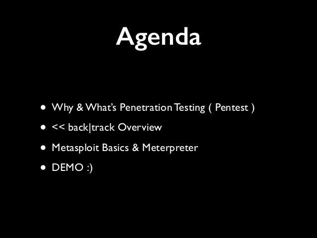 Pentest with Metasploit Slide 2