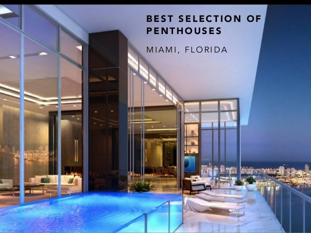 Luxury Penthouses for sale in Miami