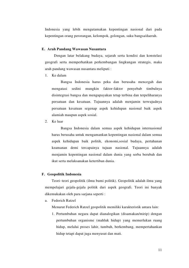 Essay Geopolitik Dengan Sumpah Pemuda Pentingnya Wawasan Nusantara