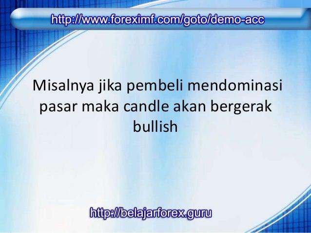 Selama tidak ada pertarungan dari  penjual maka bentuk candle akan  mengikuti dari candle sebelumnya