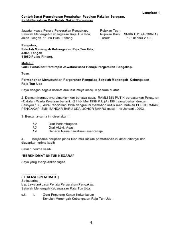 Contoh Surat Rasmi Rayuan Permohonan Ke Ipta Obtenez Livre
