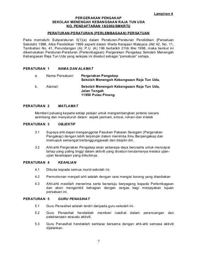 Surat Rasmi Persatuan Bahasa Melayu Ciupa Biksemad