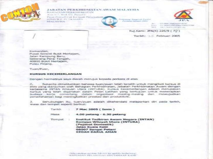 Contoh Surat Rasmi Untuk Pengetua Sekolah - 600 Tips